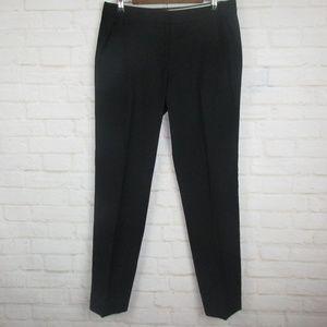 J.Crew Black 100% Wool Favorite Fit Career Pants